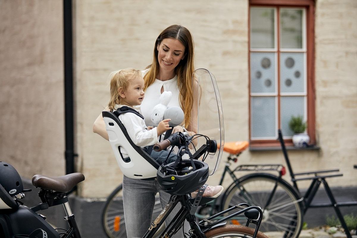 Samen op pad met het Thule Yepp Nexxt fietszitje